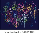 Scribble Peace Graphic
