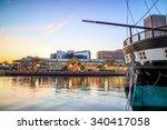 view of inner harbor area in... | Shutterstock . vector #340417058