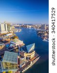 view of inner harbor area in... | Shutterstock . vector #340417529