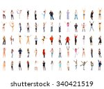 people diversity workforce... | Shutterstock . vector #340421519