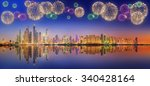 the beauty panorama of... | Shutterstock . vector #340428164