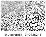 cracked set | Shutterstock .eps vector #340436246