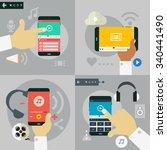 gadgets concepts   hands...