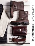 fashionable men's shoes with