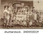 Antique Portrait Of School...