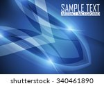 blue abstract background... | Shutterstock .eps vector #340461890