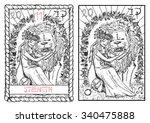 strength.  the major arcana... | Shutterstock .eps vector #340475888