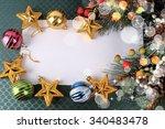 christmas background | Shutterstock . vector #340483478
