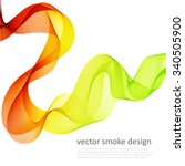 abstract vector colorful... | Shutterstock .eps vector #340505900