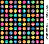 innovation 100 icons universal... | Shutterstock .eps vector #340519238
