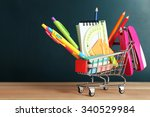 Bright Stationery Objects In...