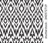black and white seamless... | Shutterstock .eps vector #340572719