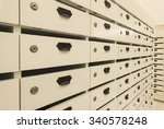 locker post box or mail box | Shutterstock . vector #340578248