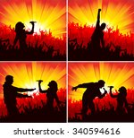poster for concerts   Shutterstock .eps vector #340594616
