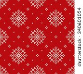 christmas sweater design.... | Shutterstock .eps vector #340601054