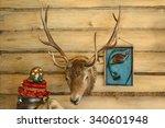 Deer Head On The Wall. Deer...