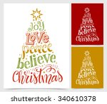 vector illustration of paper... | Shutterstock .eps vector #340610378