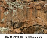 Rock Face Texture Background