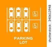 Top View Parking Lot Design...