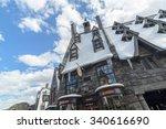 osaka  japan   oct 31  2015 ... | Shutterstock . vector #340616690