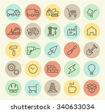 set of isolated universal... | Shutterstock .eps vector #340633034