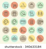 set of isolated universal... | Shutterstock .eps vector #340633184