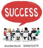 success improvement celebration ... | Shutterstock . vector #340651079