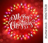 Christmas Lights Frames With....