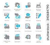 personal   business finance... | Shutterstock .eps vector #340684790