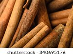close of a large pile of... | Shutterstock . vector #340695176