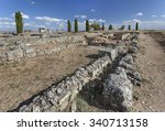 Roman Ruins In Colonia Clunia...