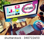 future imagine inspiration...   Shutterstock . vector #340722653