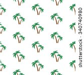 Palm Trees. Seamless Pattern....