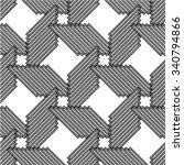 seamless stripe pattern.... | Shutterstock .eps vector #340794866