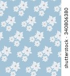 seamless vector pattern with... | Shutterstock .eps vector #340806380