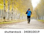 front view young sport man... | Shutterstock . vector #340810019
