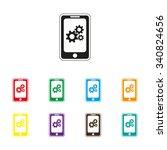 mobile phone settings   color...