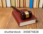 law concept   law book with a