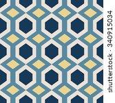 geometric vector pattern in... | Shutterstock .eps vector #340915034