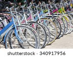 Row Of Bikes Available To Sell...