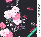 Japanese Traditional Floral...