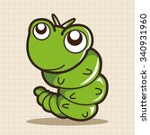 bug cartoon elements | Shutterstock .eps vector #340931960