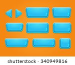 set of buttons  bright... | Shutterstock .eps vector #340949816