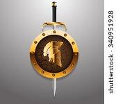 Antiques Roman Or Greek Helmet...
