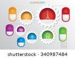 travel info graphic design...