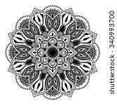 decorative elements.orient... | Shutterstock .eps vector #340993700