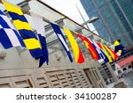 variety of flags   Shutterstock . vector #34100287