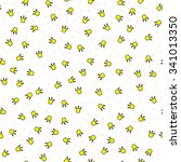 seamless illustrated pattern... | Shutterstock .eps vector #341013350