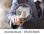 business sign button web file... | Shutterstock . vector #341014643