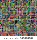 vector trendy style patterns.... | Shutterstock .eps vector #341020184